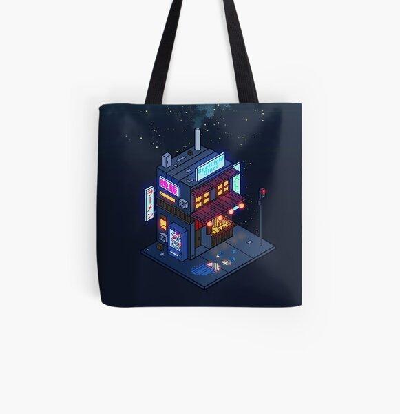 Cyberpunk Juusu All Over Print Tote Bag