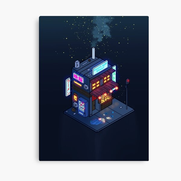 Cyberpunk Juusu Canvas Print