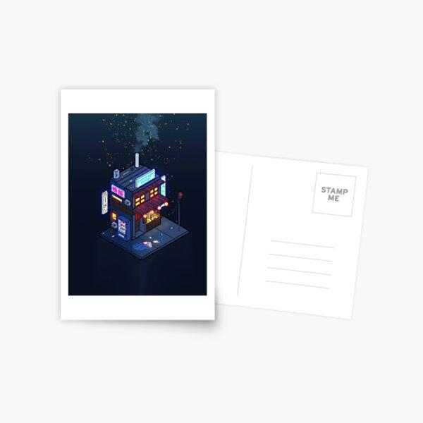 Cyberpunk Juusu Carte postale