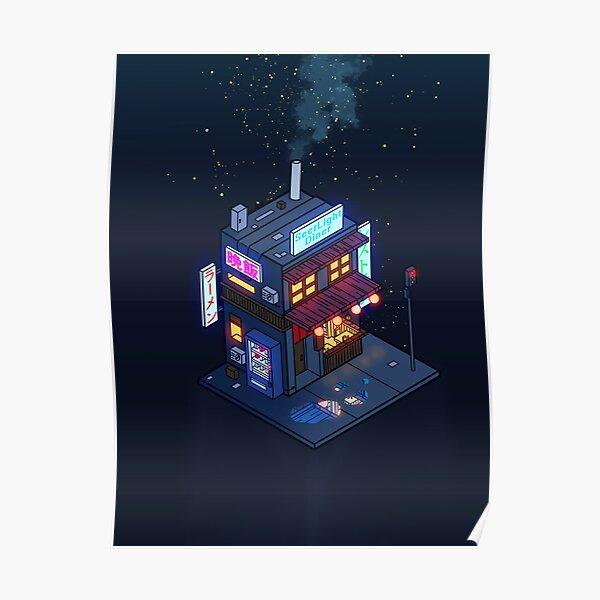Cyberpunk Juusu Poster