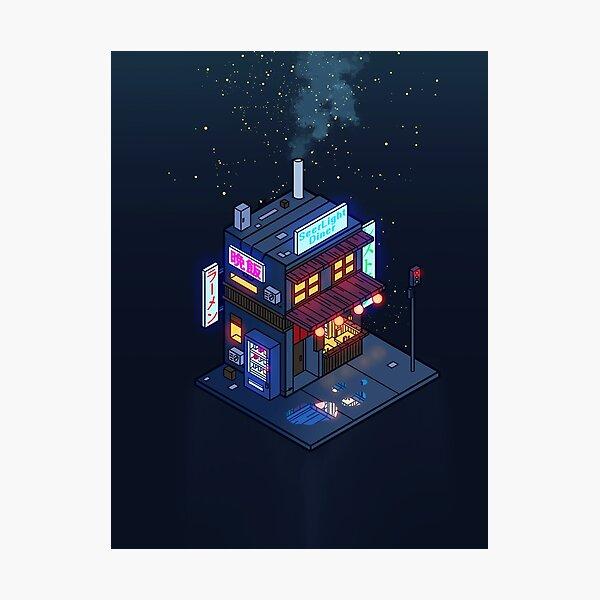 Cyberpunk Juusu Photographic Print