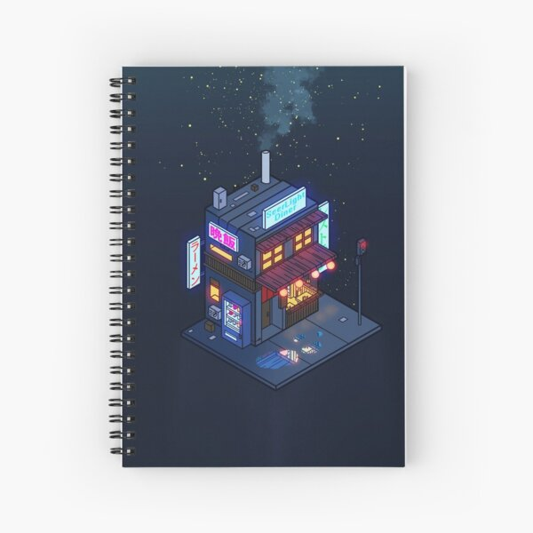 Cyberpunk Juusu Spiral Notebook
