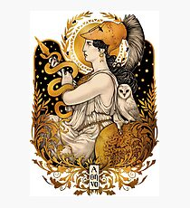 PALLAS ATHENA Photographic Print