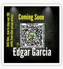 Edgar Garcia  Sticker