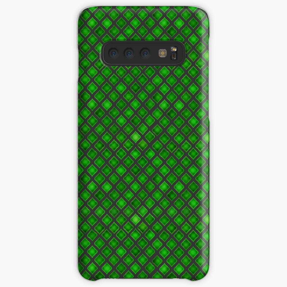 Green Tile  Case & Skin for Samsung Galaxy
