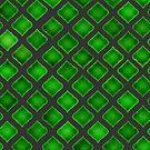 Green Tile  by Etakeh