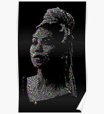 Jhene Dot Art Poster
