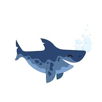 grandad shark t shirt by midonet