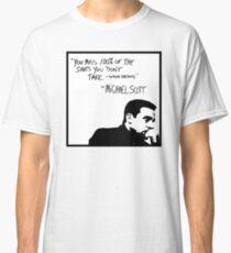 Camiseta clásica Michael Scott