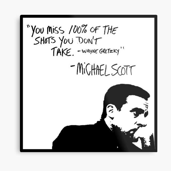 Michael Scott Metal Print