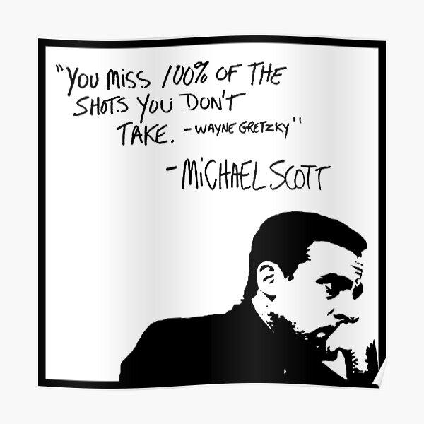 Michael Scott Póster