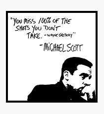 Michael Scott Photographic Print