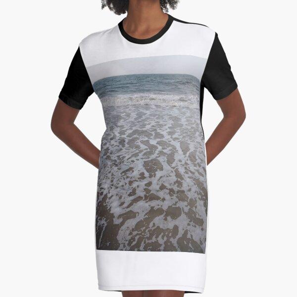 Coney Island Beach, #Coney, #Island, #Beach, #ConeyIsland, #ConeyIslandBeach, #beachSwimming, #swimming Graphic T-Shirt Dress