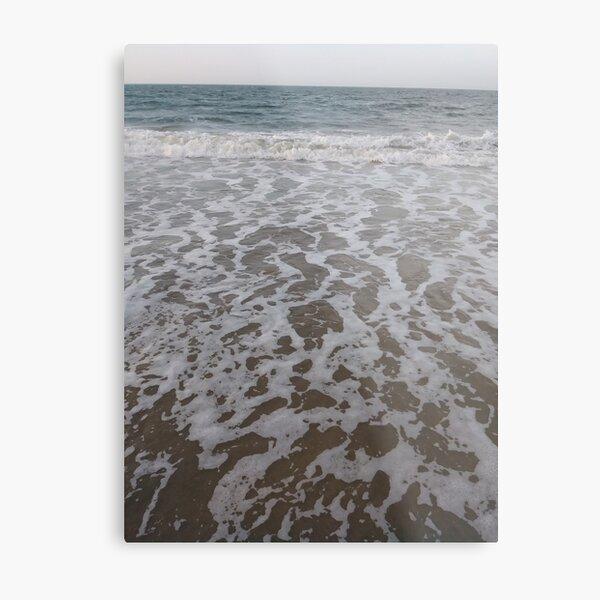 Coney Island Beach, #Coney, #Island, #Beach, #ConeyIsland, #ConeyIslandBeach, #beachSwimming, #swimming Metal Print