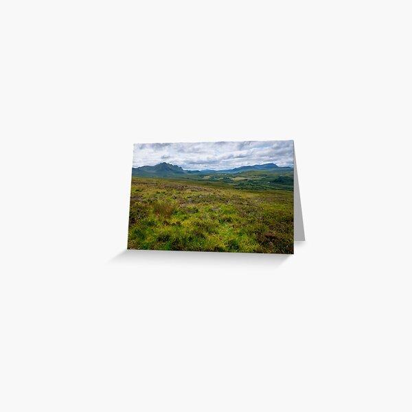 Peaks of Ben Loyal and Ben Hope Scottish Highlands Greeting Card
