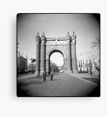 Arco del Triunfo Canvas Print