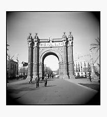 Arco del Triunfo Photographic Print