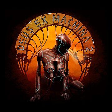Deus Ex Machina Artwork by RetroTrader