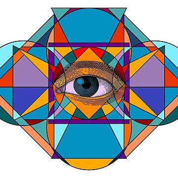All seeing eye by MrSmithMachine