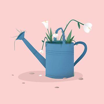 Flowers Grow Everywhere by decio
