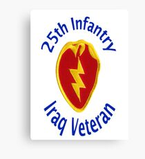 25th Infantry - Iraq Veteran Canvas Print