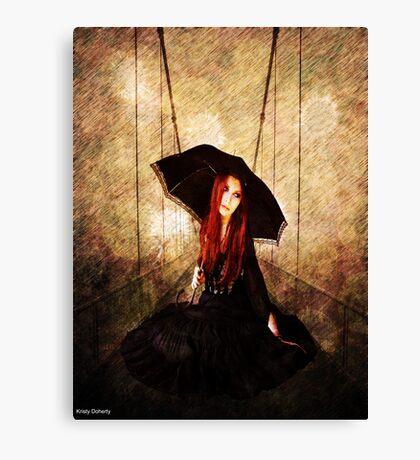 rain rain Canvas Print
