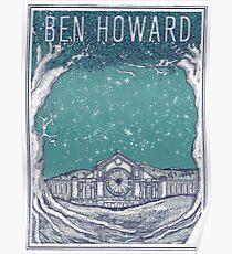 Ben Howard Starry Night Poster