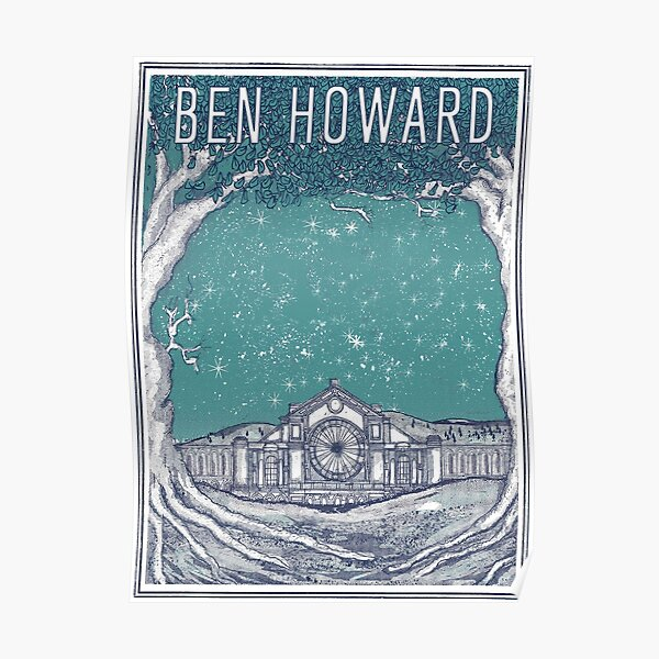 Ben Howard Starry Night Poster