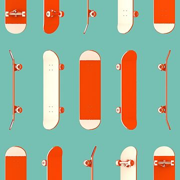 Many Red Skateboards by AaronKinzer