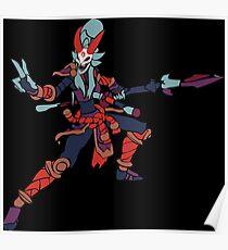 Bloodmoon Kalista Poster