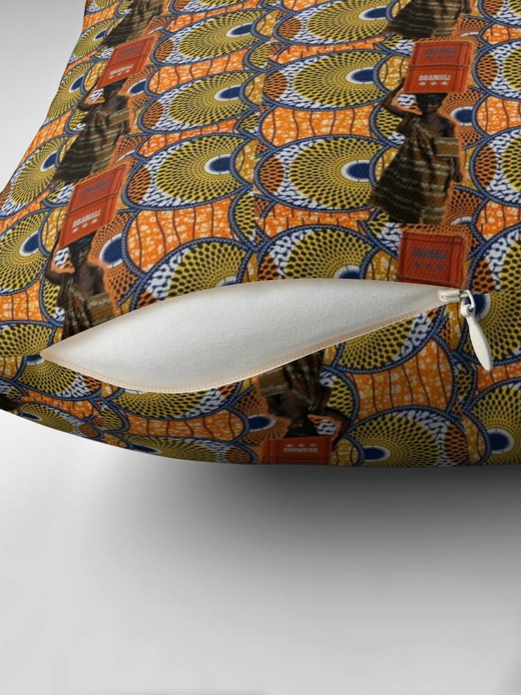Coussin ''COLORS OF AFRICA': autre vue