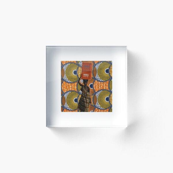 COLORS OF AFRICA Bloc acrylique