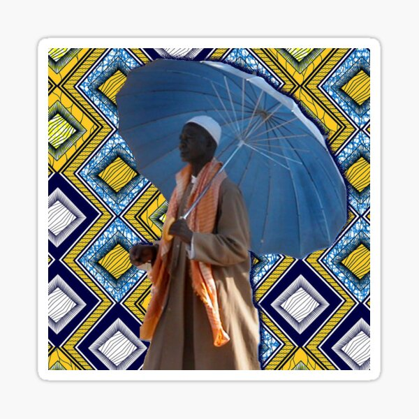 COLORS OF AFRICA Sticker