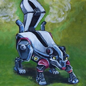 Pew, The Robot Skunk by justafriend