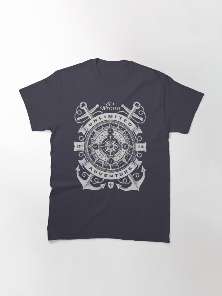 Alternate view of Sea Wanderer Unlimited Adventure T-shirt Classic T-Shirt