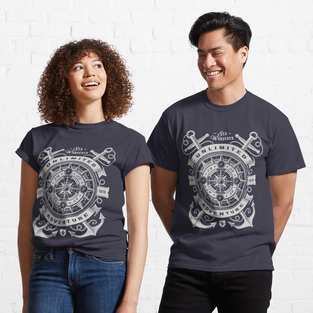 Sea Wanderer Unlimited Adventure T-shirt Classic T-Shirt
