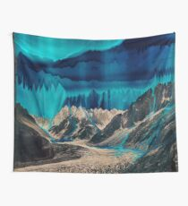 Skyfall, Melting Northern Lights II Wall Tapestry