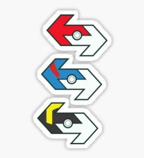 Time to TRADE! - Pokemon GO Sticker Set | Pokeball, Great Ball & Ultra Ball Sticker