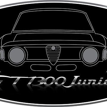 Alfa Romeo Giulia Quadrifoglio 1300 GT Junior by fmd159