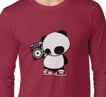 Hip Hop Panda Long Sleeve T-Shirt
