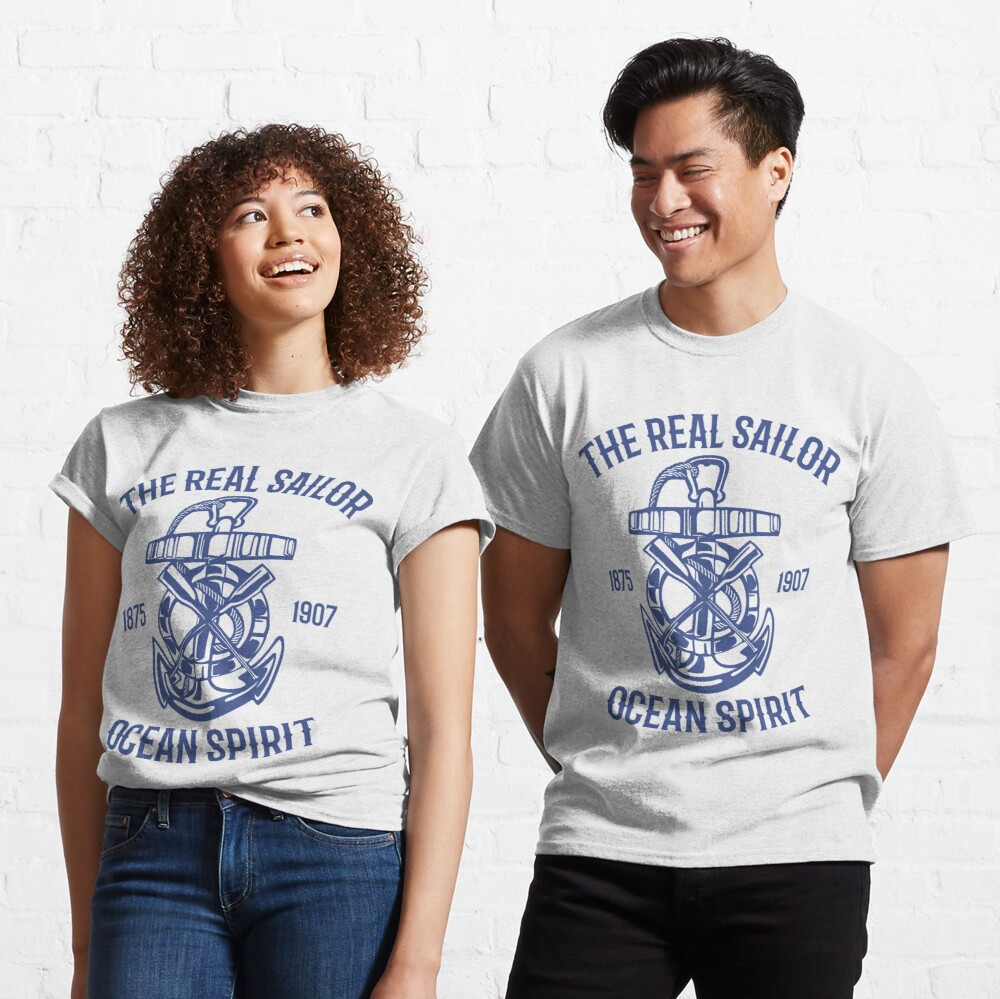 The Real Sailor Ocean Spirit Adventure T-shirt Classic T-Shirt