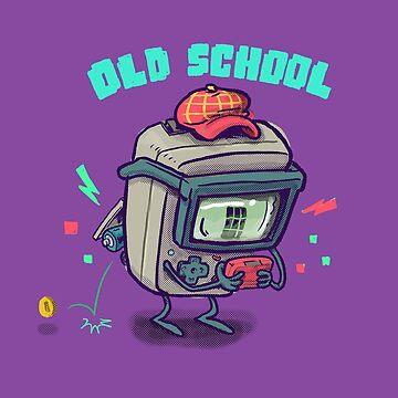 Old School Gamer by nate-bear