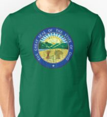 OHIO STATE SEAL - POPULAR DISTRESSED STATE DESIGN WITH OHIO STATE SEAL Unisex T-Shirt