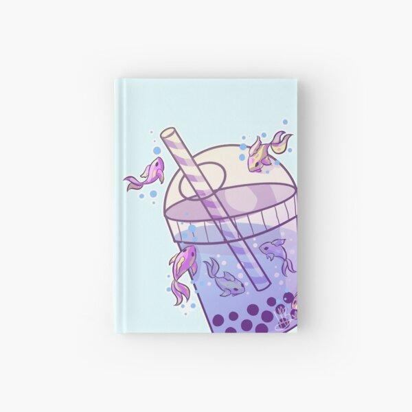Boba Tea Fish Hardcover Journal