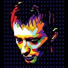 Thom Yorke in WPAP by prayitno