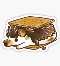 S'mores hedgehog Sticker