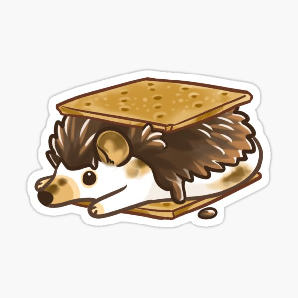 S'mores hedgehog Sticker