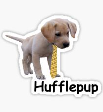 Hufflepup - most Loyal Snuggler Sticker