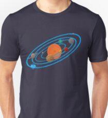 Pixel Planet Solar System Unisex T-Shirt
