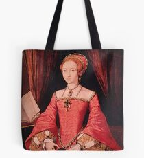 Elizabeth I Princess Portrait Tote Bag